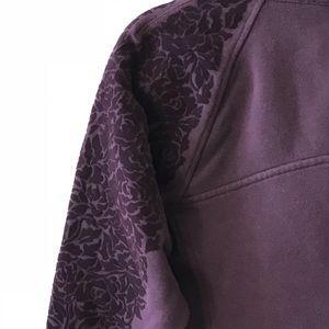 lululemon athletica Tops - Lululemon Floral Flock Pullover
